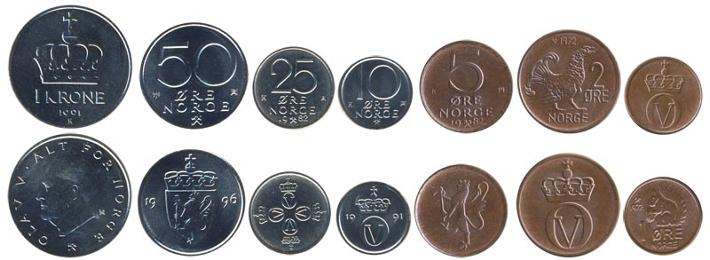 Норвежские монеты монеты ссср 15 коп
